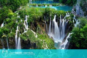 Parco nazionale dei laghi di Plitvice in Croazia